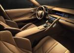 картинки интерьер Lexus LC 500 2016-2017 года
