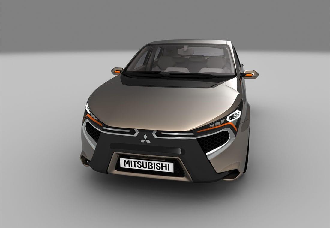 фото концепт Mitsubishi Komorebi 2016-2017 года