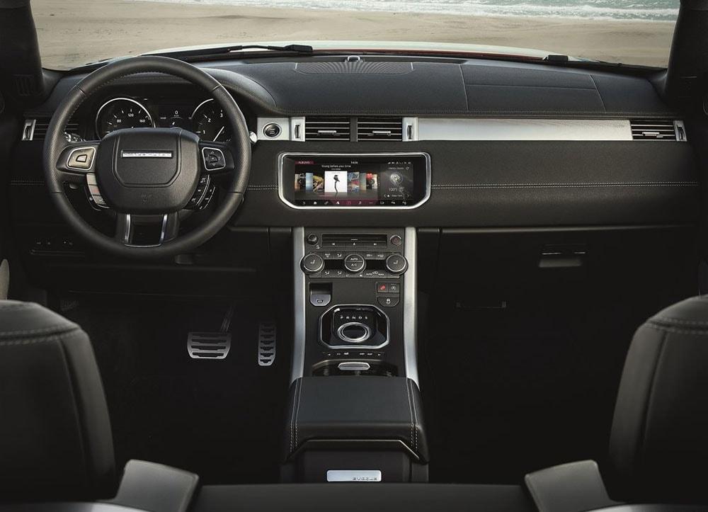 фото салон Range Rover Evoque Convertible 2016-2017 года