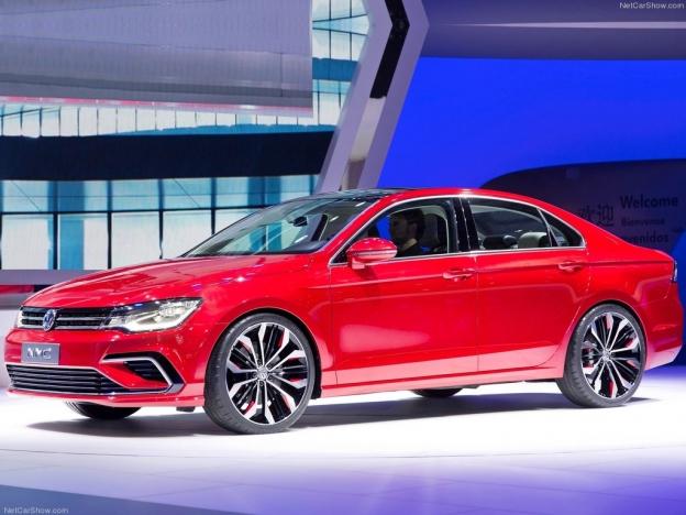 Volkswagen New Midsize Coupe 2016-2017: фото цена и комплектация, видео