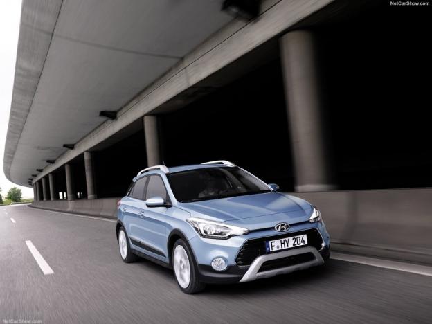 Фото Hyundai i20 Active 2016-2017 спереди