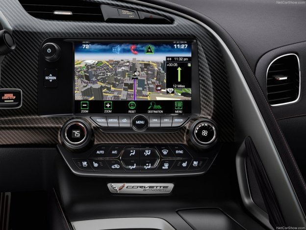 Chevrolet Corvette Stingray 2015-2016: завораживающий взгляды